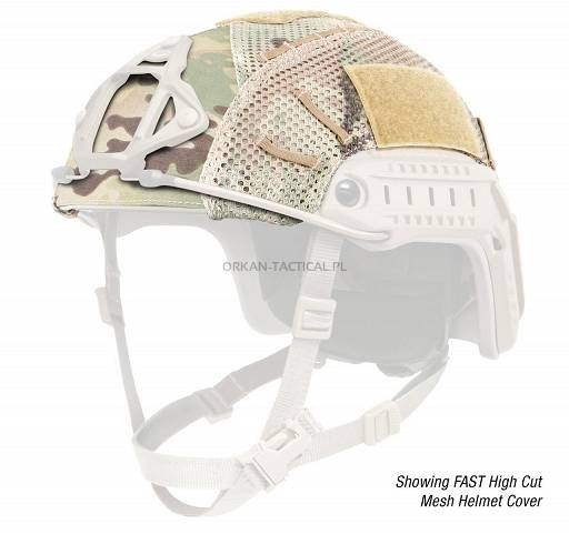 OPS-CORE FAST MESH HELMET COVER MultiCam